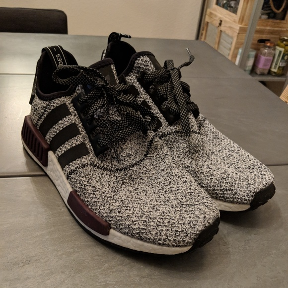 check out b28a2 4ca0f adidas Other - adidas NMD R1 Champs Burgundy Grey size 9.5 in Men